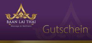 Baan Lai Thai Massage Gutschein