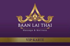 BLT Thaimassage VIP Karte